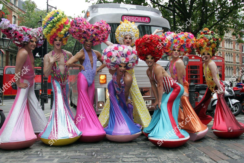 Priscilla Queen Desert Musical Drag Queen Actors Editorial Stock Photo Stock Image Shutterstock