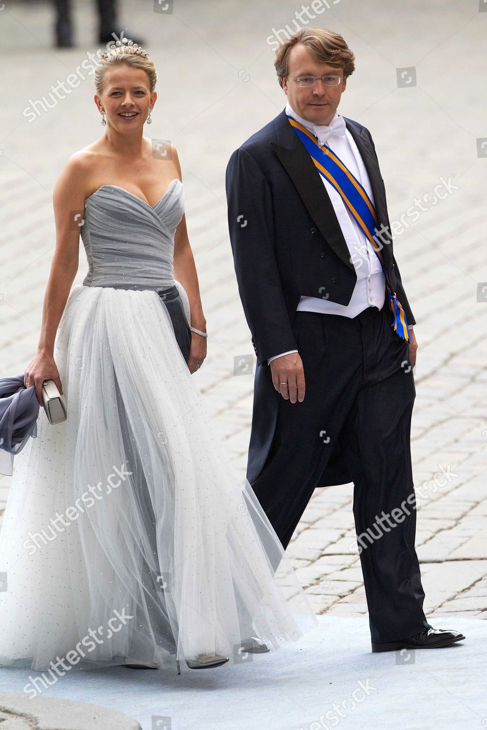 The wedding of Crown Princess Victoria and Daniel Westling, Stockholm Cathedral, Stockholm, Sweden - 19 Jun 2010: стоковое фото
