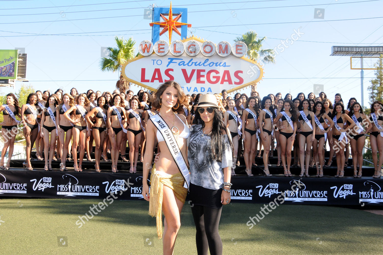 Miss Universe 2009 Stefania Fernandez designer Tala Editorial Stock