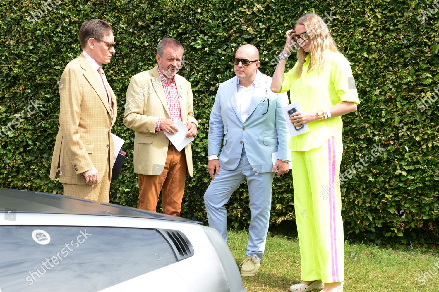 Stock photo of Cartier 'Style et Luxe' at Goodwood, UK - 11 Jul 2021