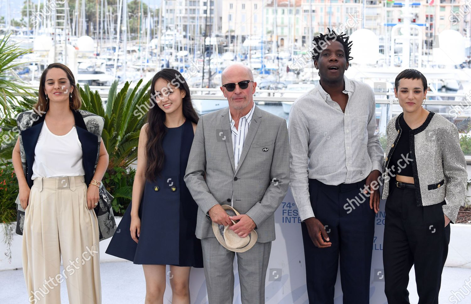 Stock photo of 'Paris 13th' photocall, 74th Cannes Film Festival, France - 15 Jul 2021