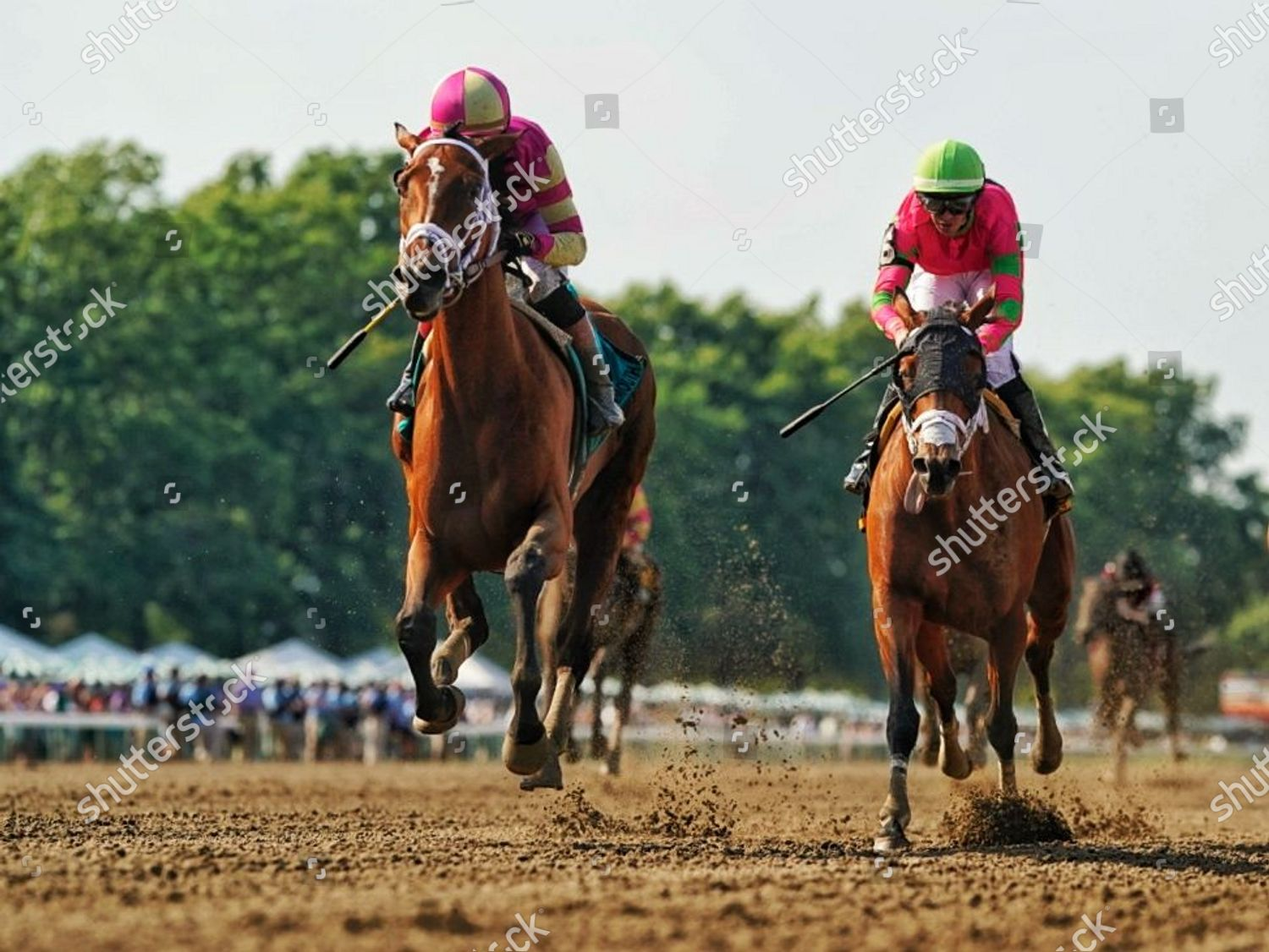 Stock photo of Horse Racing Haskell Invitational Day, Oceanport, USA - 17 Jul 2021