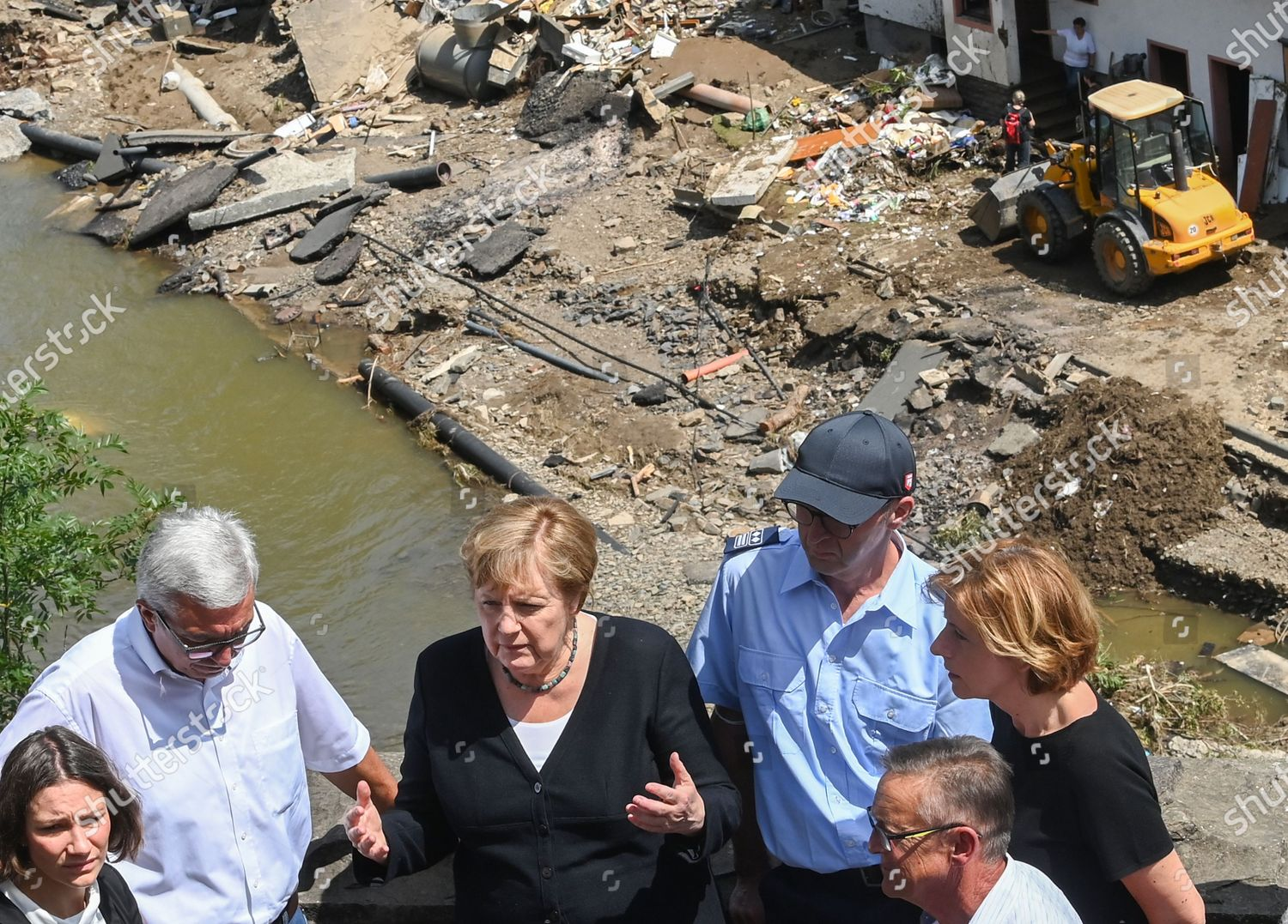 Stock photo of Flooding in Germany, Schuld - 18 Jul 2021