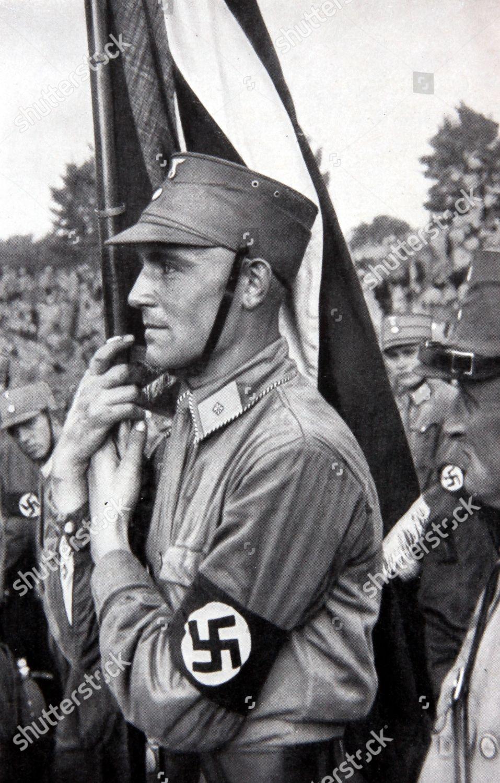 Man nazi uniform Germany Editorial Stock Photo - Stock Image