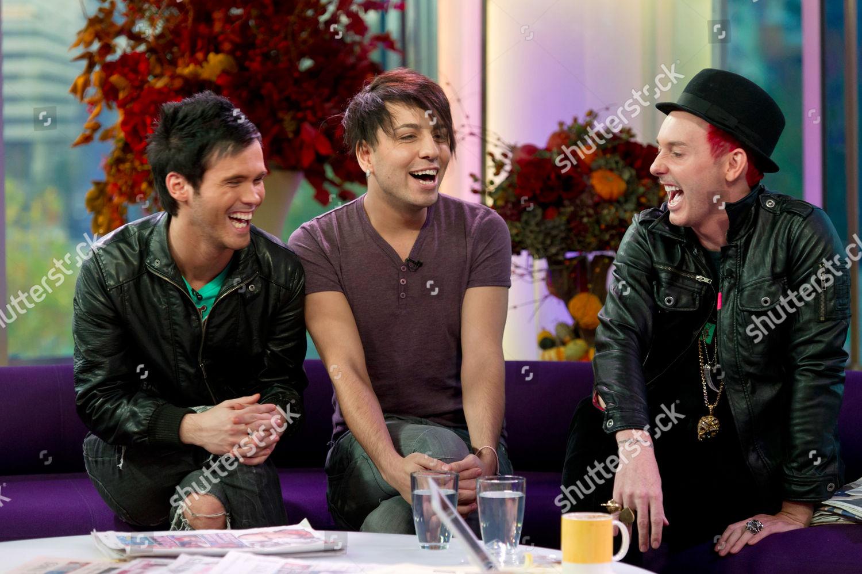 Stock photo of 'Daybreak' TV programme, London, Britain - 18 Oct 2010