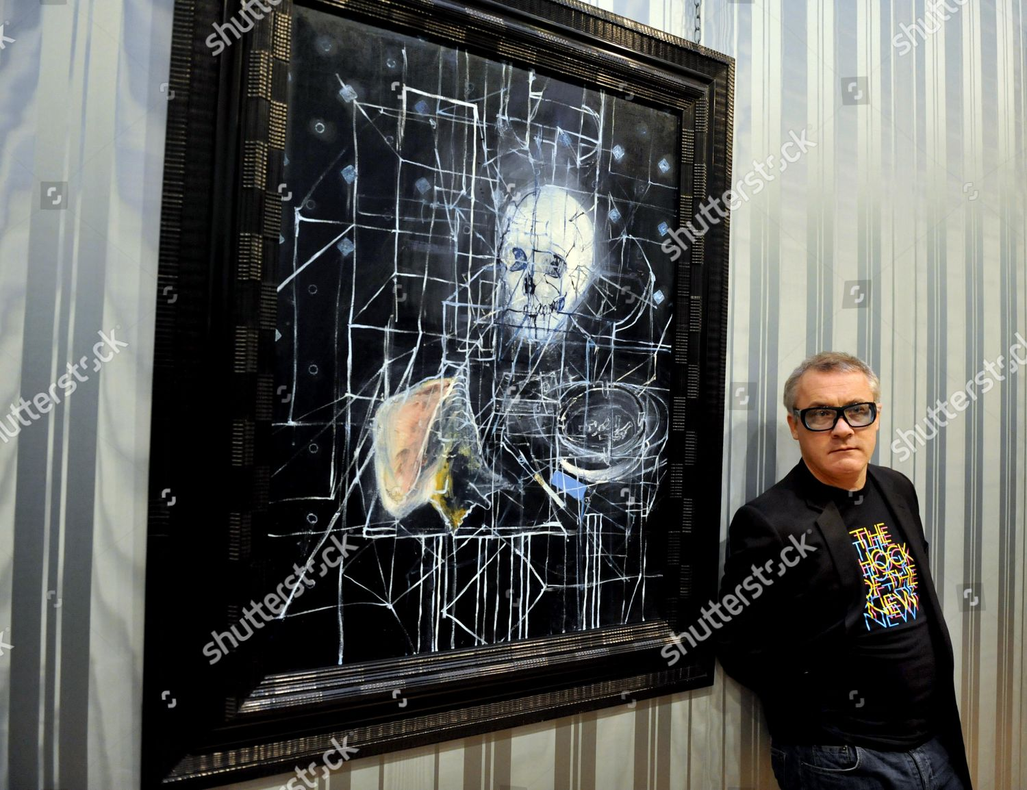 Artist Damien Hirst Unveils New Paintings His Editorial Stock Photo Stock Image Shutterstock
