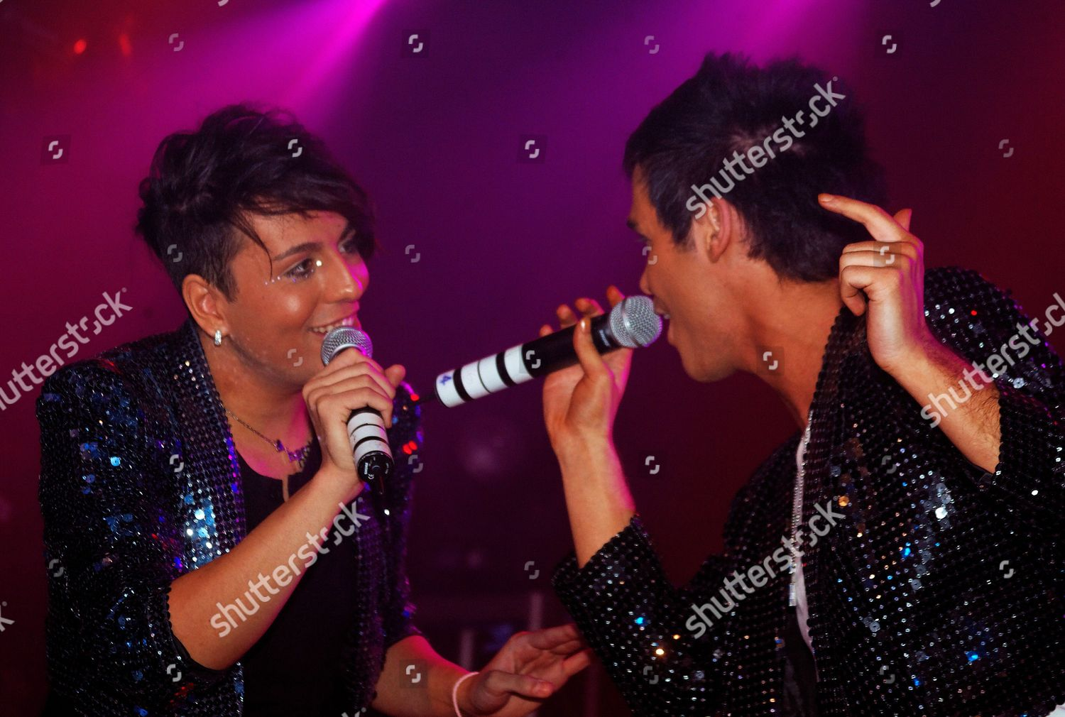Stock photo of Diva Fever in concert at G-A-Y, Heaven nightclub, London, Britain - 24 Oct 2010