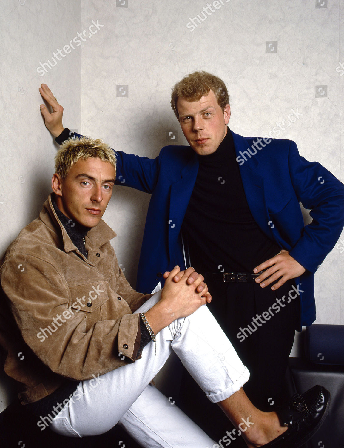 Style Council Paul Weller Mick Talbot Editorial Stock Photo