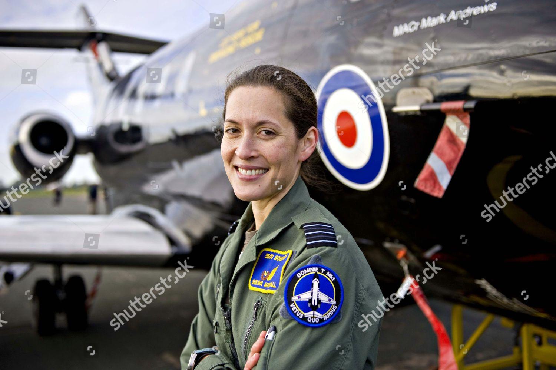 Wing Commander Suraya Marshall after flying RAF Editorial