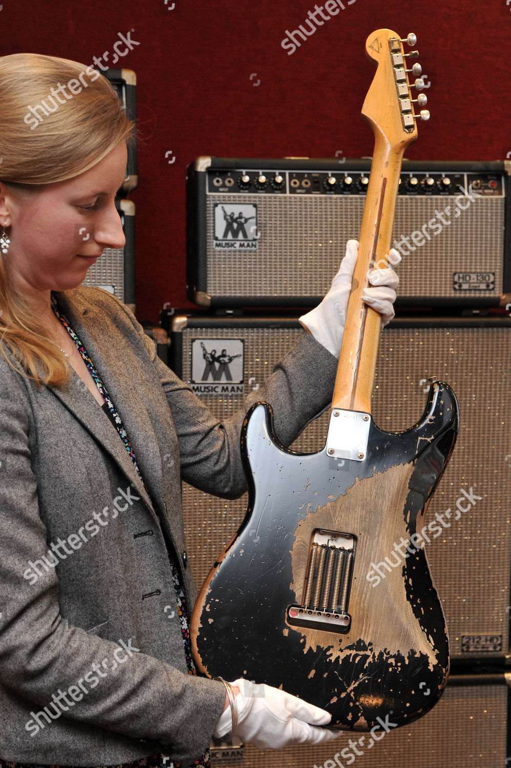 2006 Fender Eric Clapton Blackie Recreation Signed Editorial Stock Photo Stock Image Shutterstock