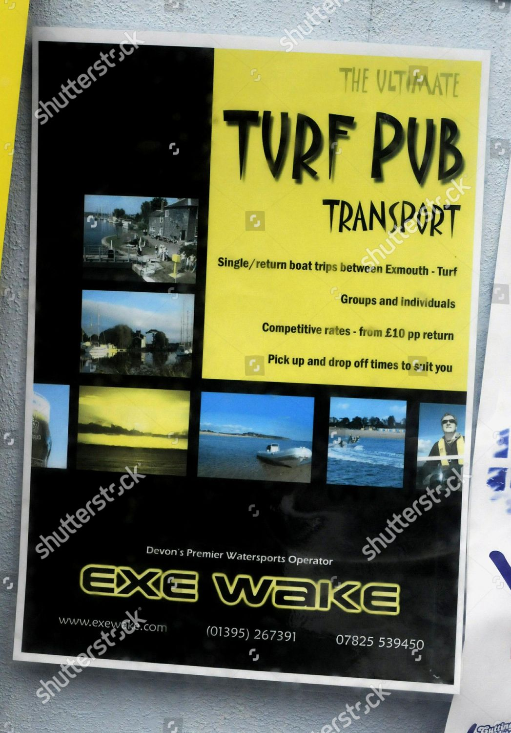 Sign window Exe Wake company allegedly organising Editorial