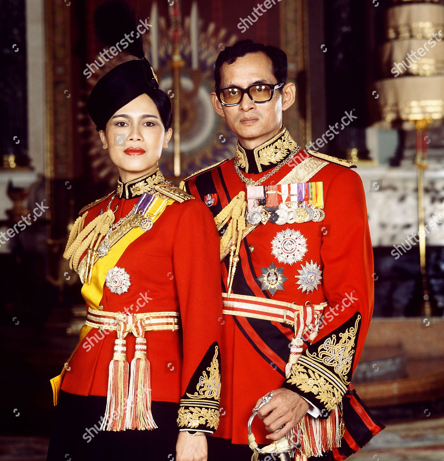 Stock photo of Thai Royals