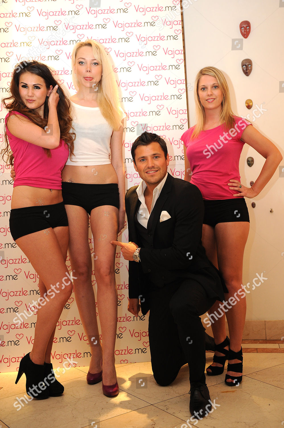 Mark Wright Models Wearing Body Art Crystals Editorial Stock Photo Stock Image Shutterstock