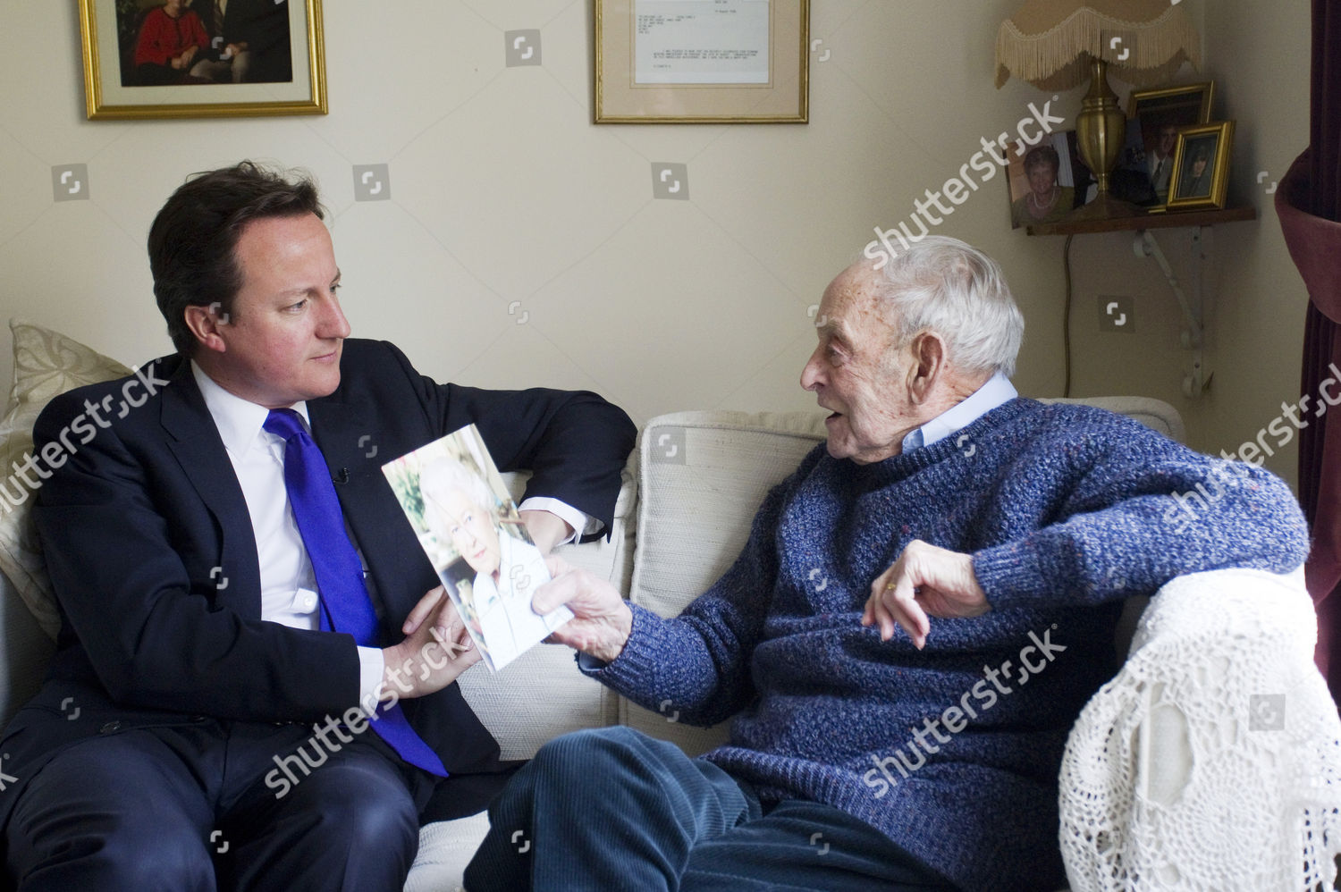 On Eve Of British Pm Camerons Visit >> Prime Minister David Cameron Bob Hunt Editorial Stock Photo Stock