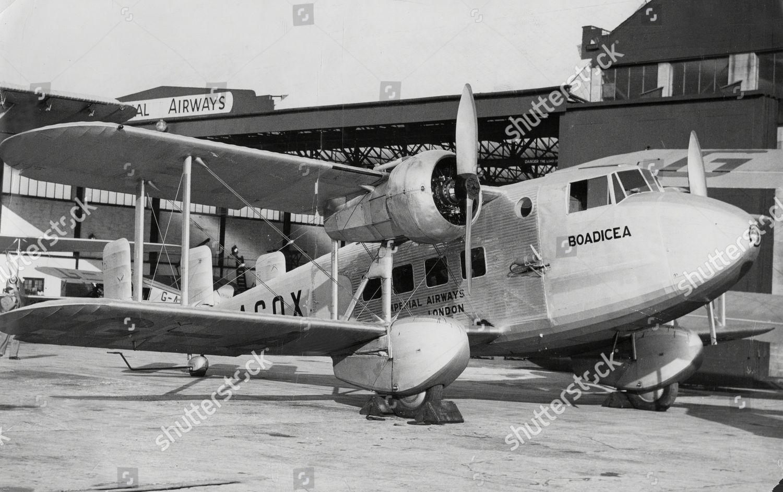 Boulton Paul P71a Mail Plane Gacox boadicea Editorial Stock Photo ...