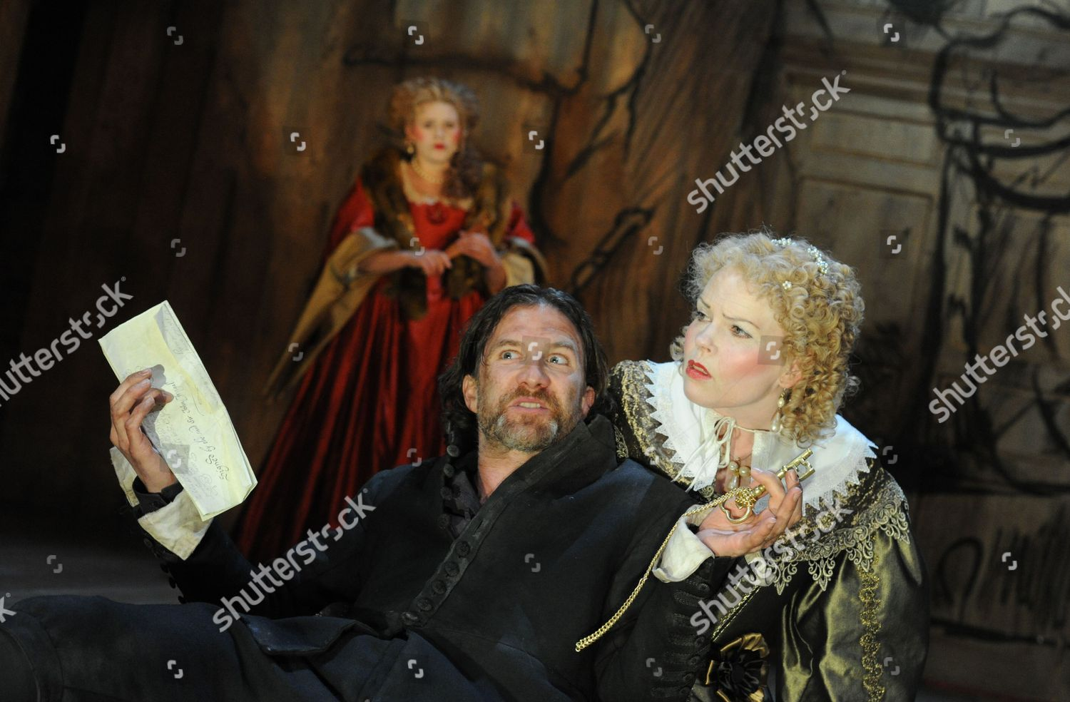 Stock photo of 'The City Madam' play performed by the Royal Shakespeare Company at the Swan Theatre, Stratford Upon Avon, Britain - 09 May 2011