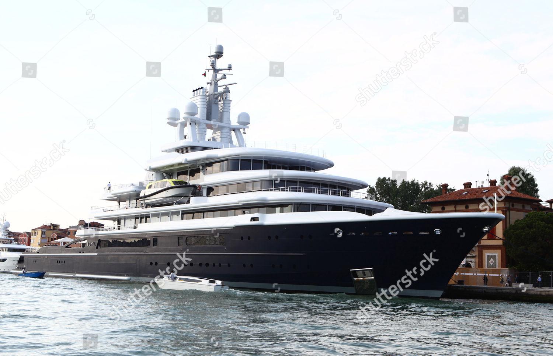 Roman Abramovichs 377foot Boat Luna Editorial Stock Photo Stock
