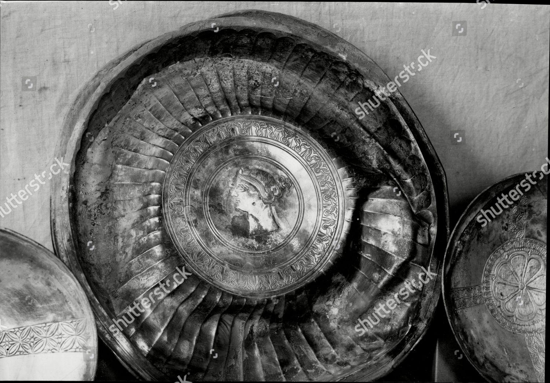 Ornamental Silver Plate Now British Museum Laboratories Editorial Stock Photo Stock Image Shutterstock