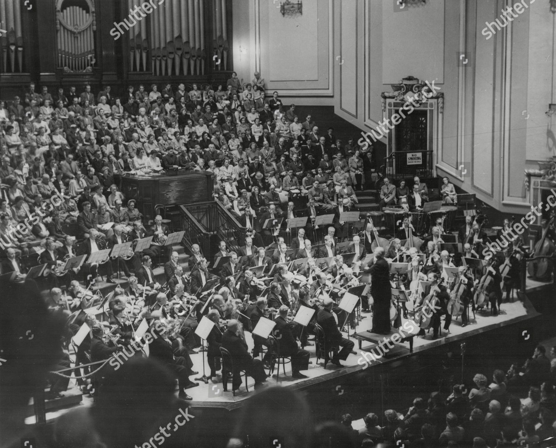 Statsradiofonien Orchestra Denmark Conducted By Fritz Busch