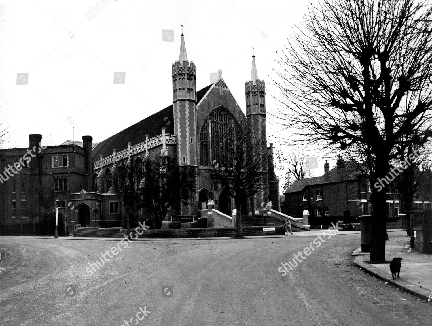 New Ealing Abbey West London Editorial Stock Photo - Stock