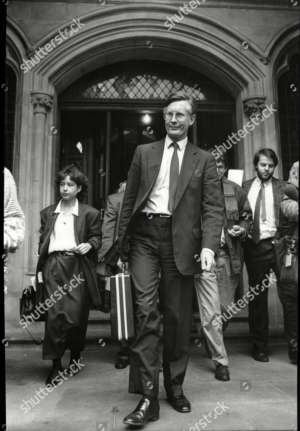 1129b1c80f4 Michael Meacher Mp Leaving The High Court In London After Losing His Libel  Case Against The Observer Newspaper Stock Image by Associated Newspapers  for ...