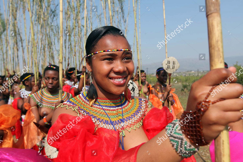 Umhlonyane umemulo Swaziland reed dance - YouTube