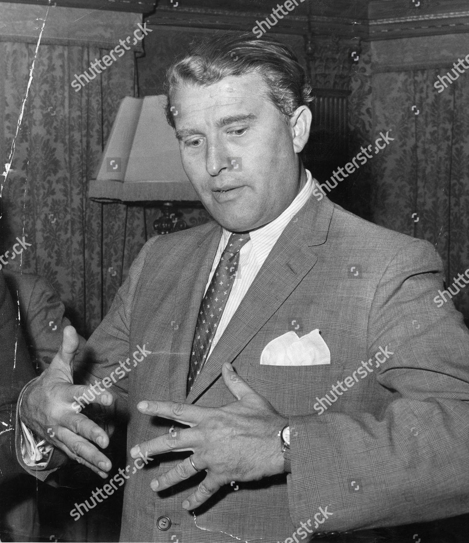 Dr Wernher Von Braun Inventor V2s 1959 Editorial Stock Photo