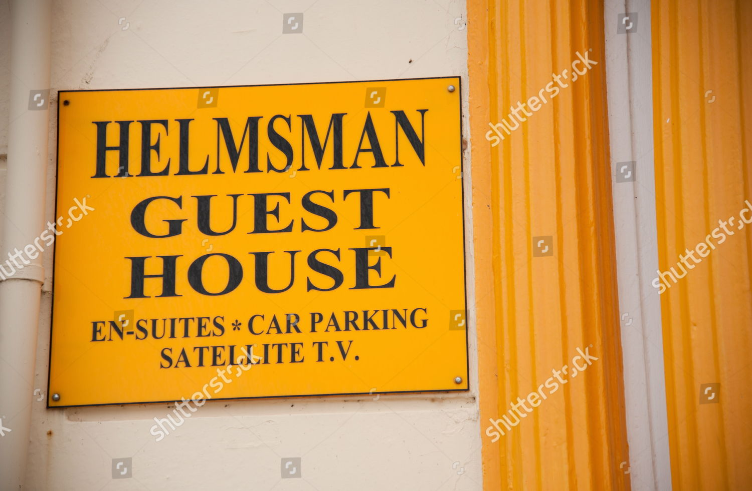 Helmsman Guest House Editorial Stock Photo - Stock Image