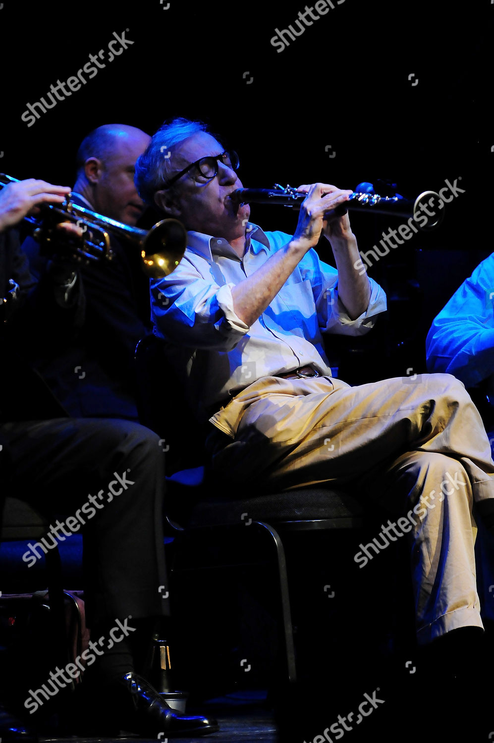 Woody Allen his New Orleans Jazz Band Editorial Stock Photo - Stock