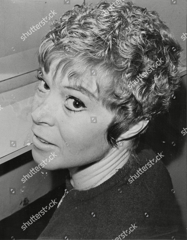 Shani Wallis Actress Vidal Sassoon Hairstyle 1967 Editorial