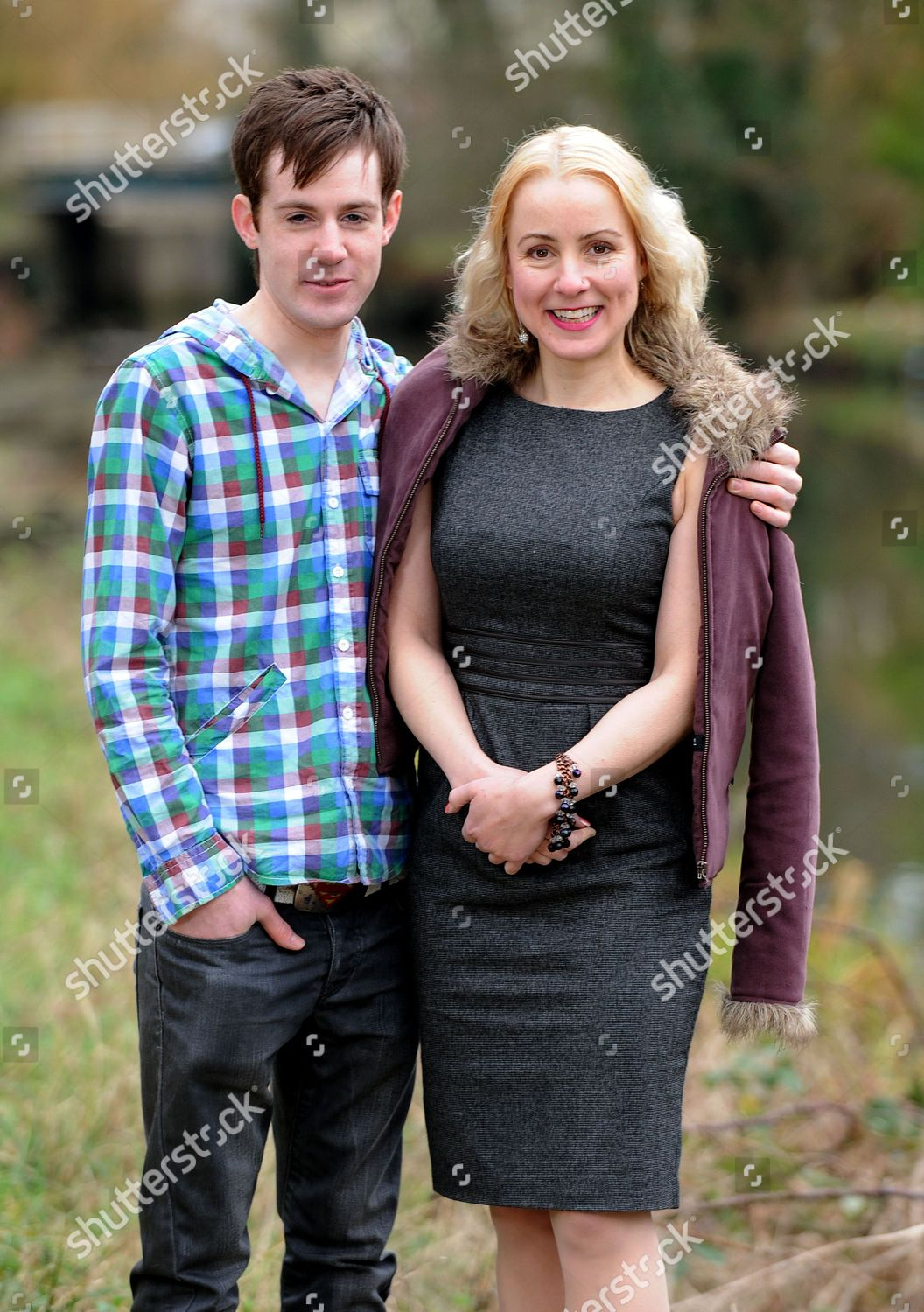 41Yearold Soraya Wasenius 20Yearold Boyfriend Jack Button Editorial Stock Photo -8931