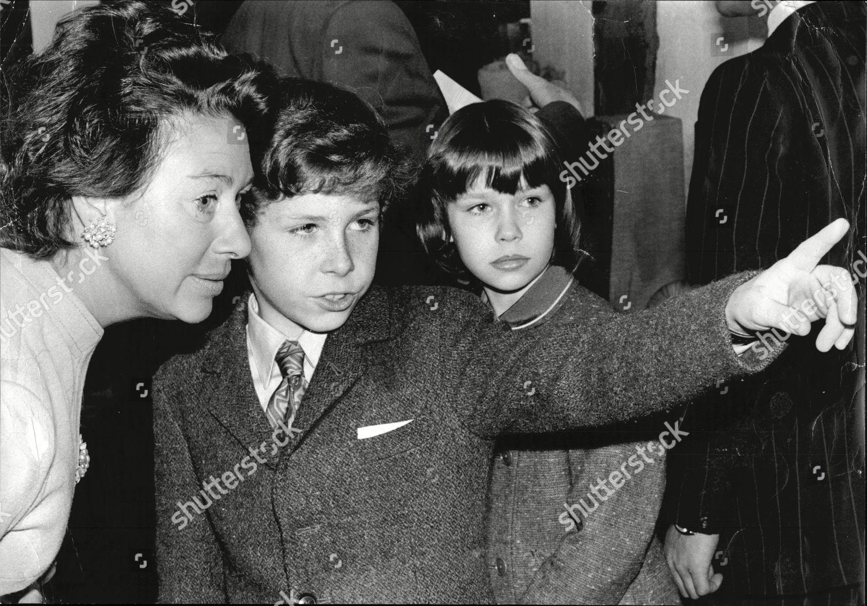 Princess Margaret Her Children Viscount Linley Sarah Editorial