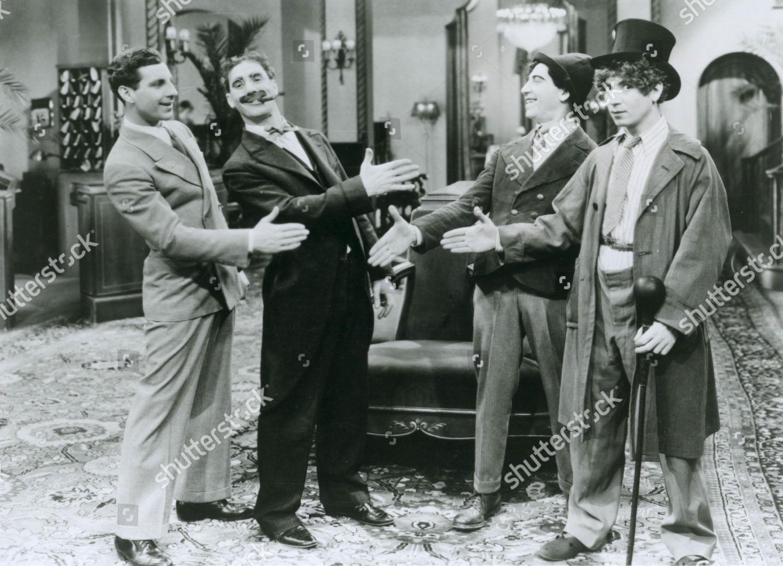 Cocoanuts Marx Brothers Zeppo Marx Groucho Marx Editorial Stock