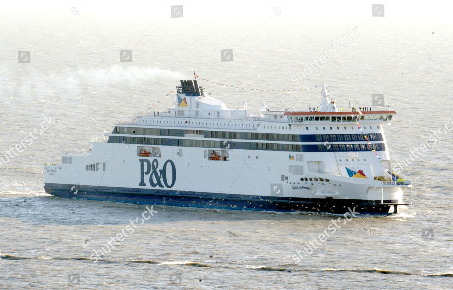 Po Ferries Biggest New Cross Channel Ferry Editorial Stock Photo