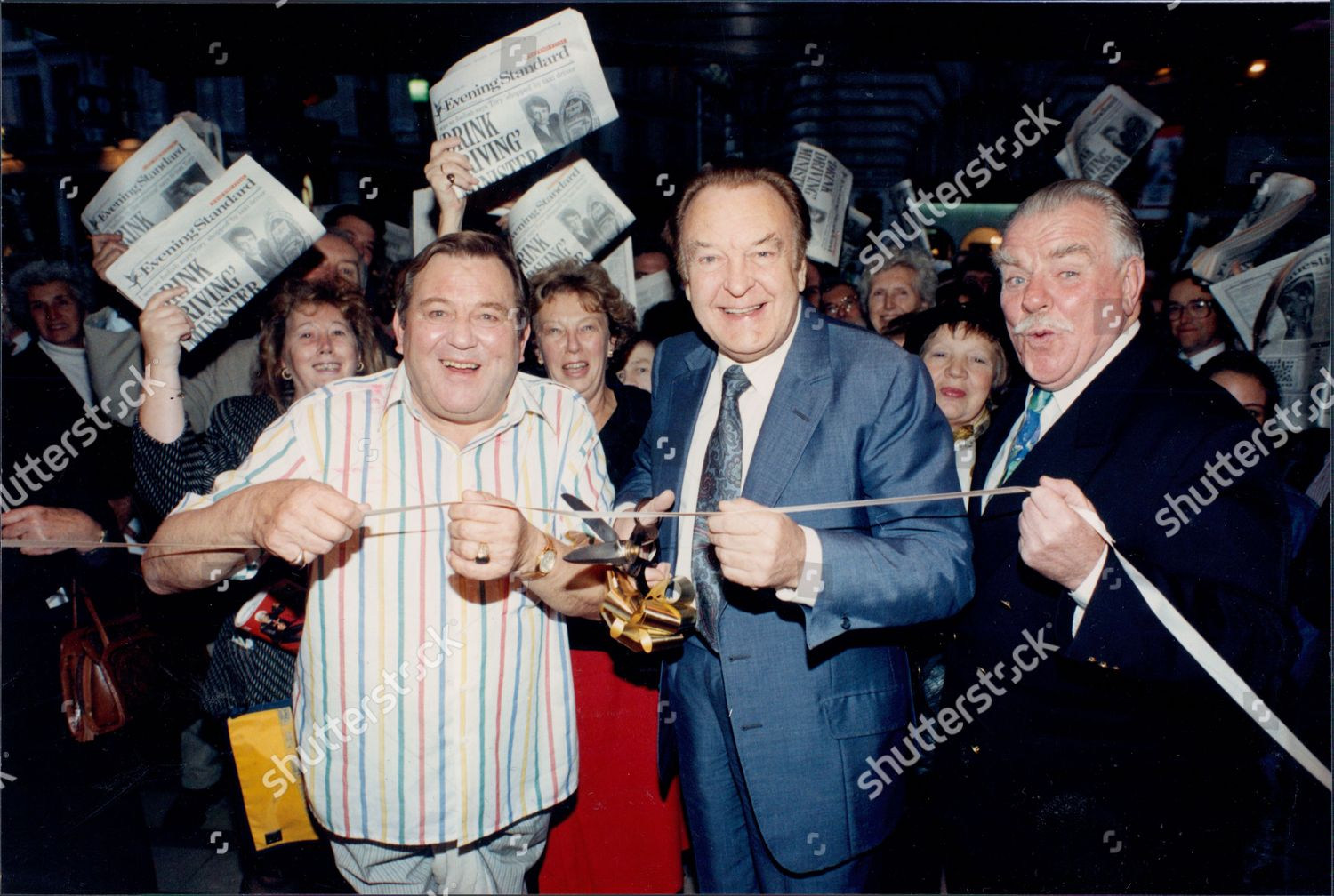Lr Actors Terry Scott Donald Sinden Windsor Editorial Stock Photo Stock Image Shutterstock