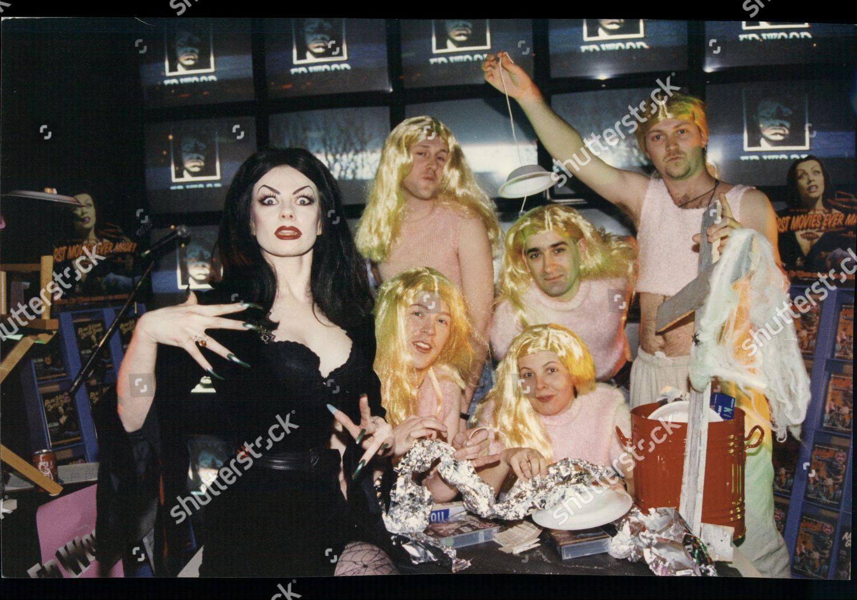 Unnamed Model Tv Horror Hostess Vampyra Male Editorial Stock Photo