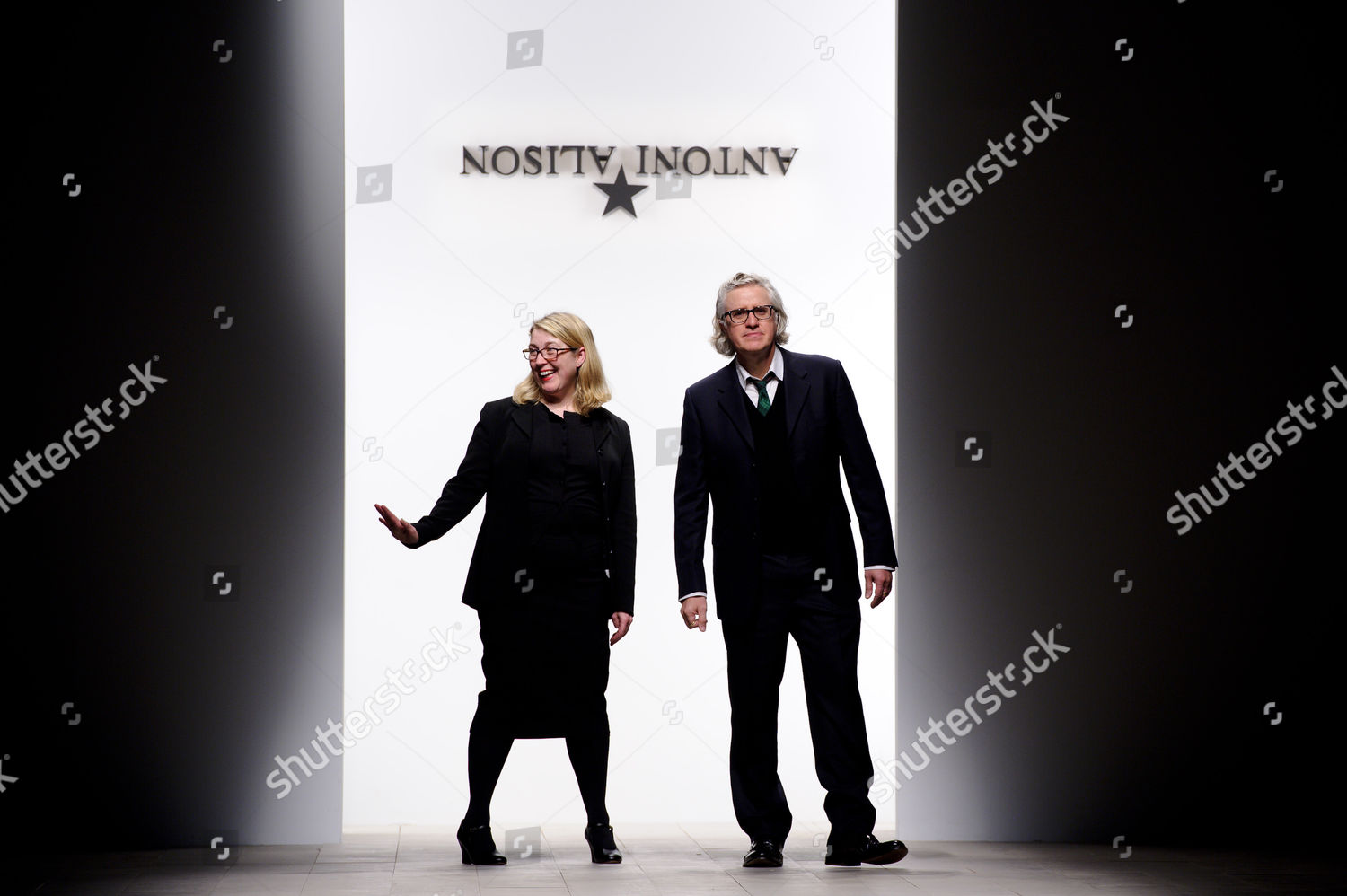 Stock photo of Antoni and Alison show, Autumn Winter 2012, London Fashion Week, London, Britain - 17 Feb 2012