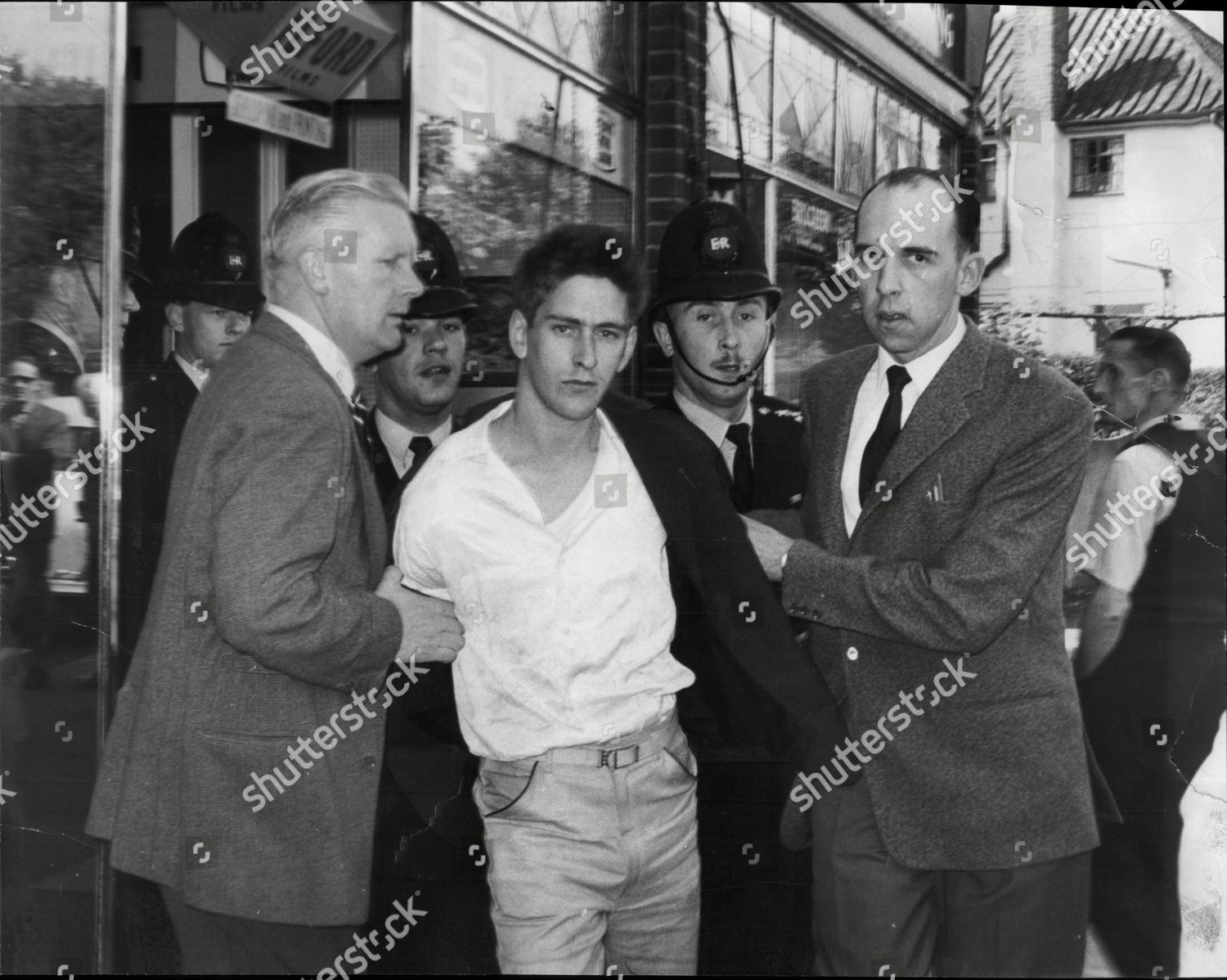 Law Crime Robbery 1959 us Pay Grab Editorial Stock Photo - Stock