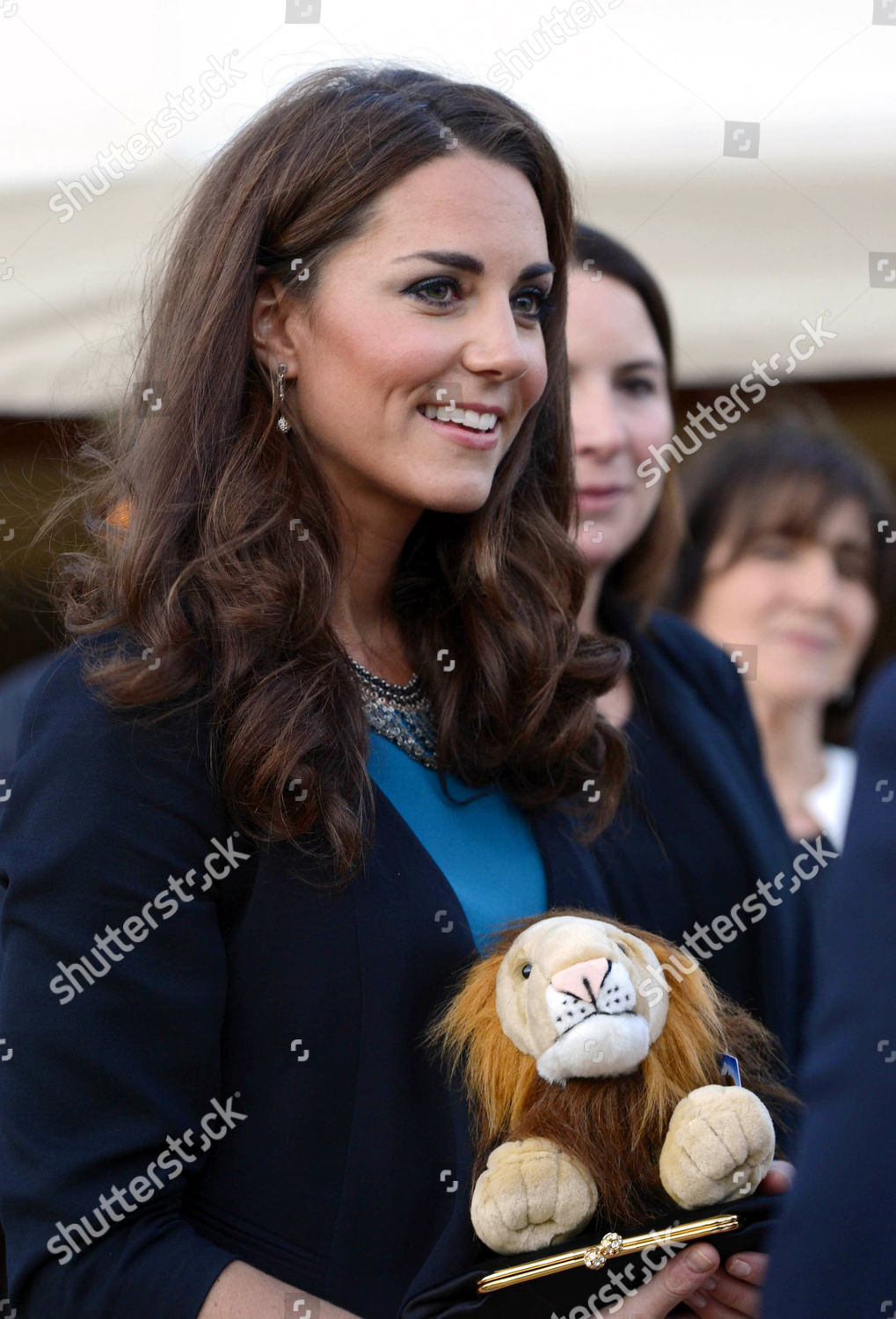 Scary Squeeze Stuffed Animals, Catherine Duchess Cambridge Presented Aslan Lion Toy Editorial Stock Photo Stock Image Shutterstock