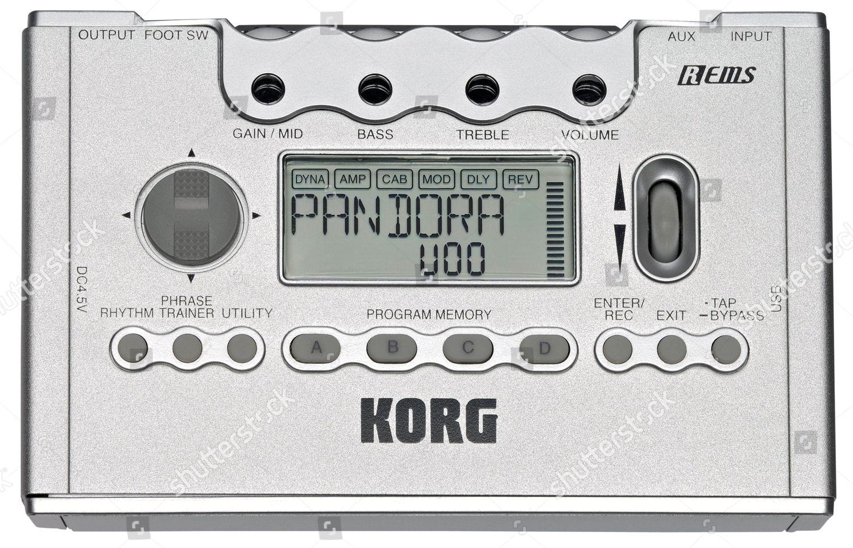 korg pandora