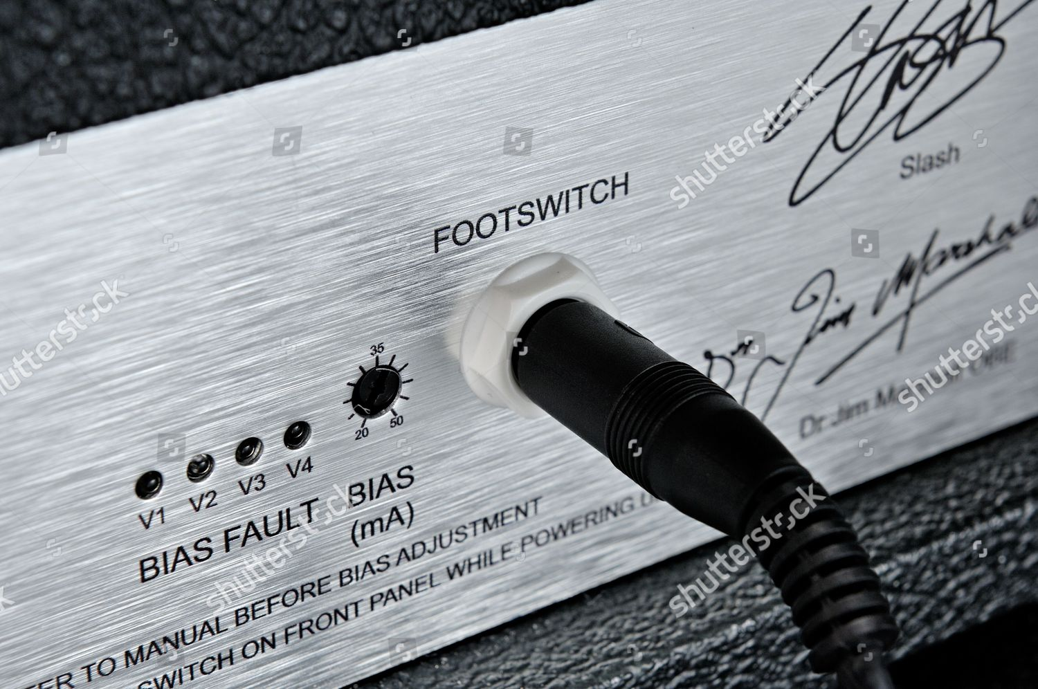 Footswitch Input Marshall Afd100 Slash Signature Amplifier