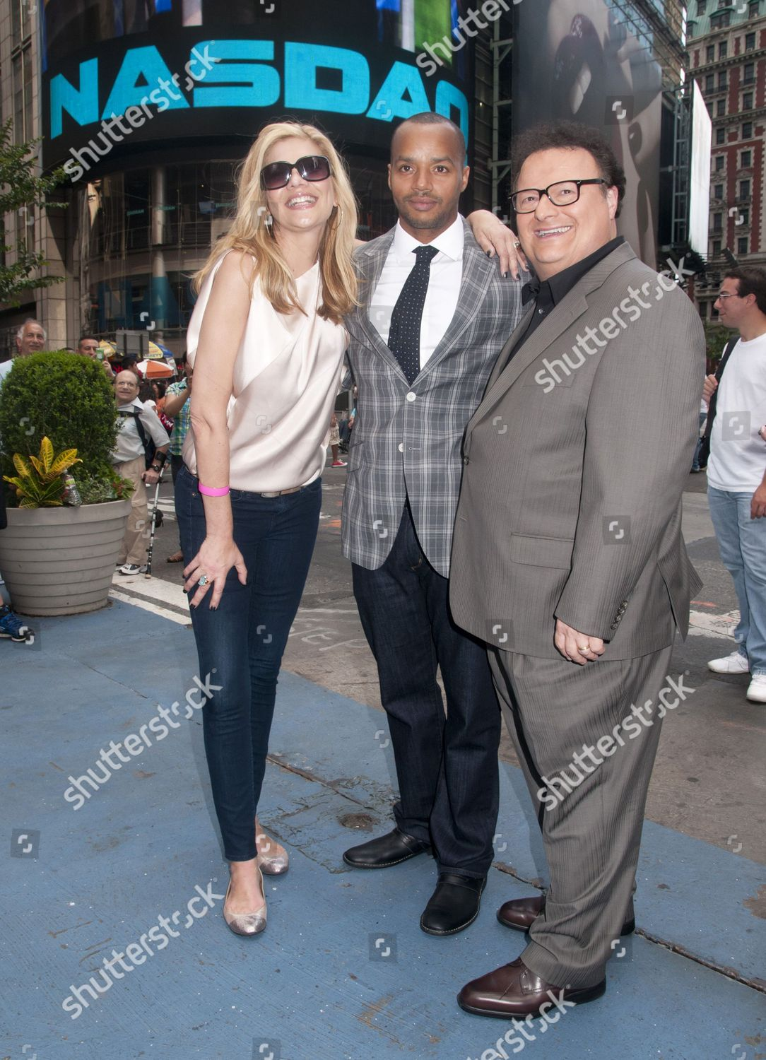 Kristen Johnston Donald Faison Wayne Knight Editorial Stock