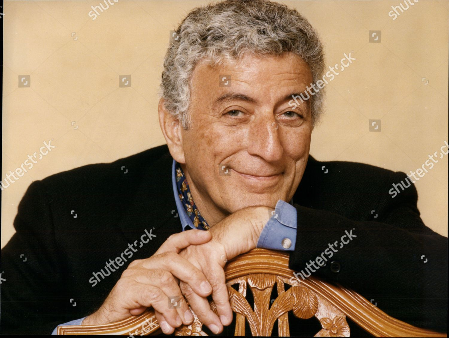American Singer Tony Bennett Anthony Dominick Benedetto Editorial