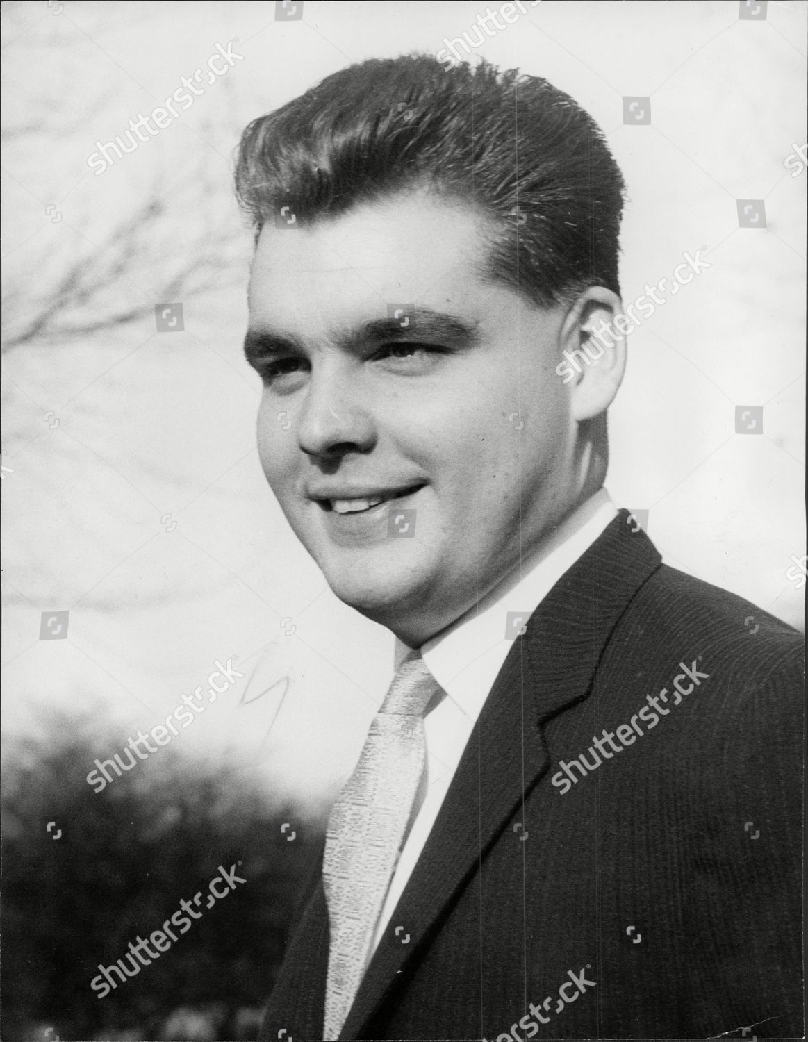 Songwriter Tony Hatch Anthony Peter tony Hatch Editorial Stock Photo