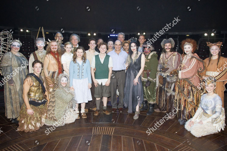 David Suchet The Voice Aslan cast members Editorial Stock