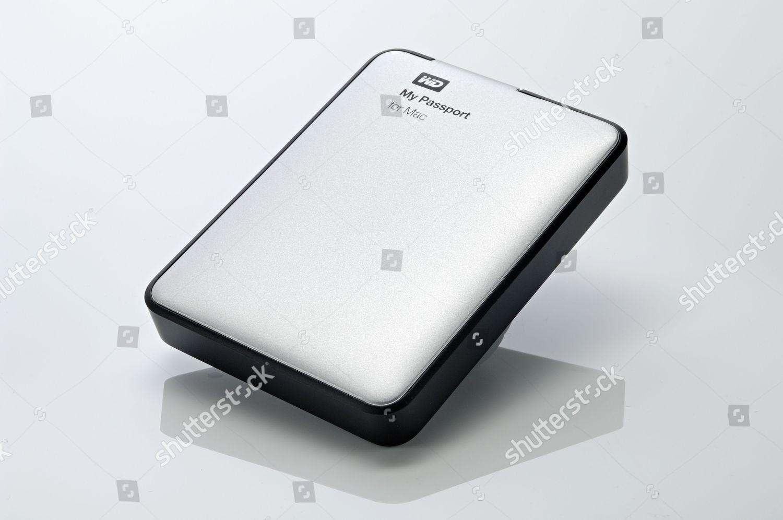 Wd My Passport Mac 1tb Portable Hard Editorial Stock Photo