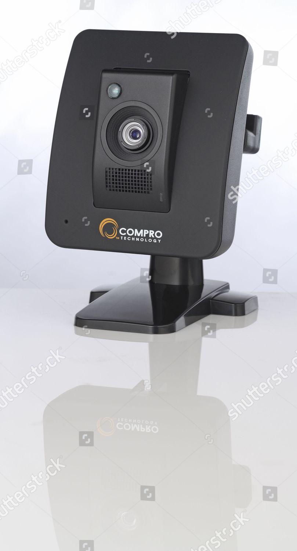 Compro IP70 Pc IP Camera During Studio Editorial Stock Photo