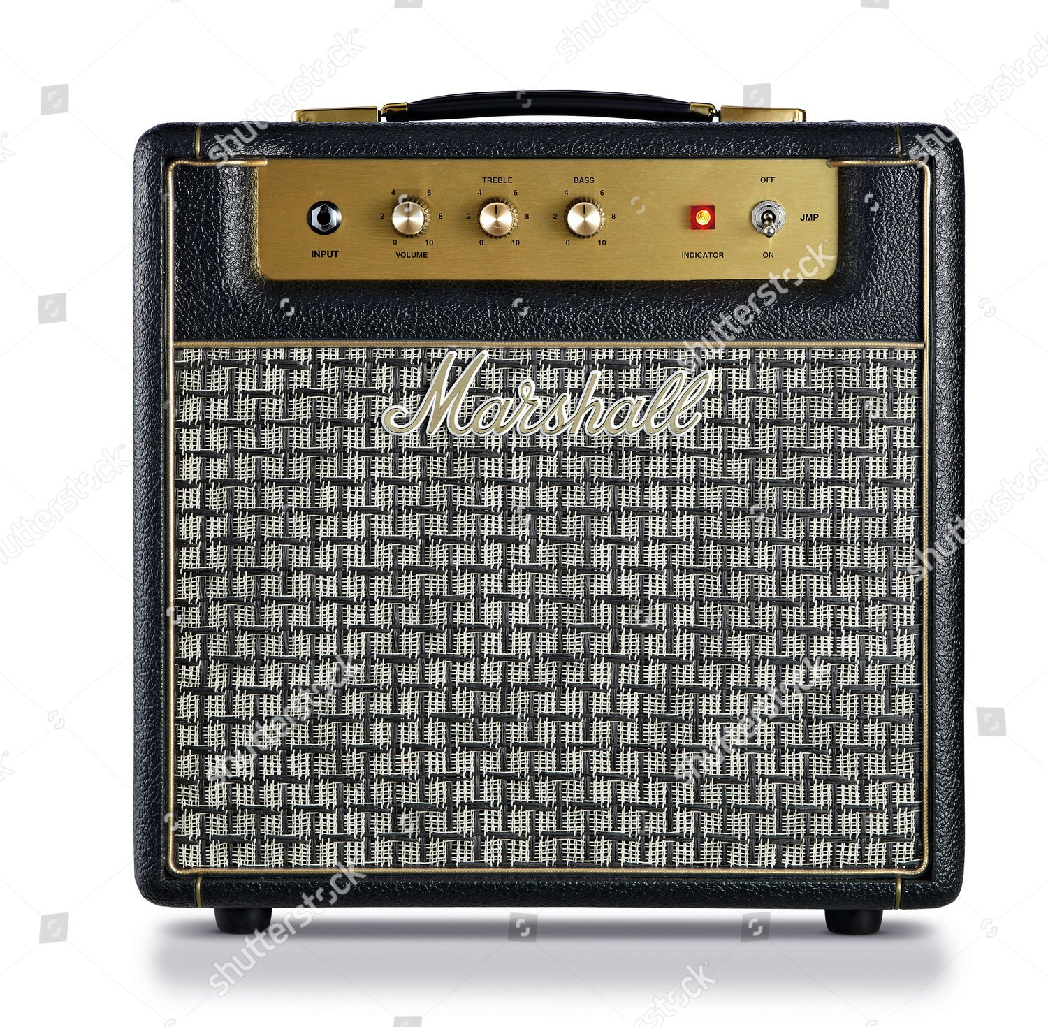 Marshall Jmp1 Combo Electric Guitar Amplifier Photographed Editorial