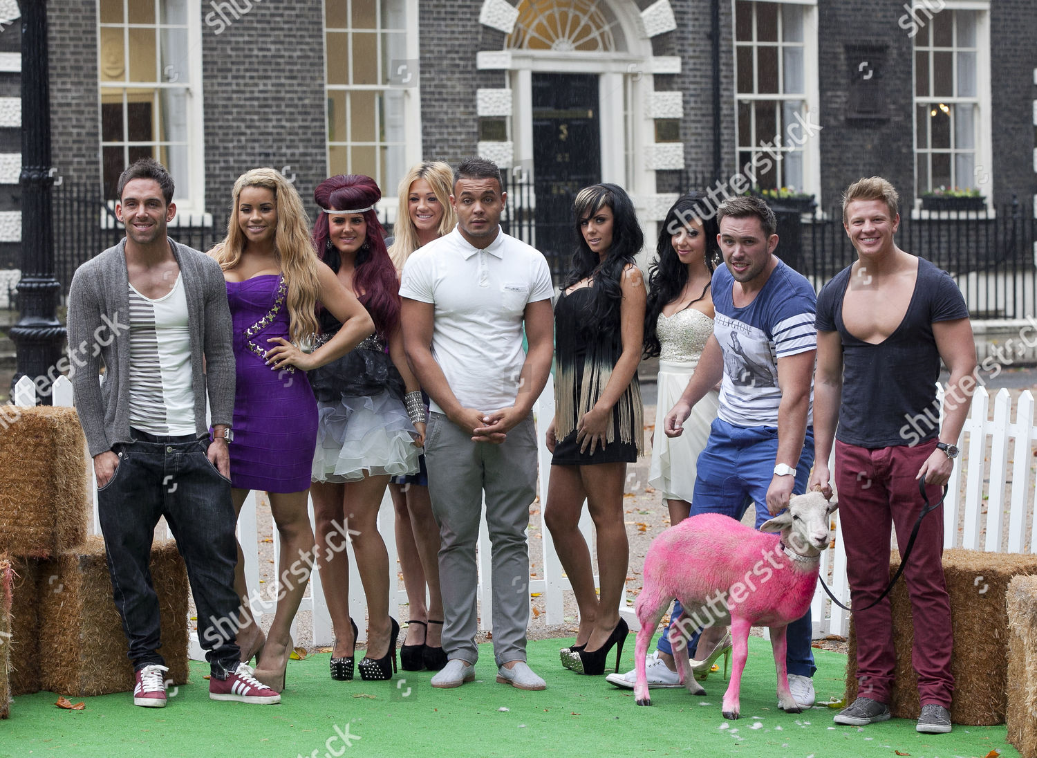 Stock photo of 'The Valleys' MTV programme launch photocall, London, Britain - 24 Sep 2012