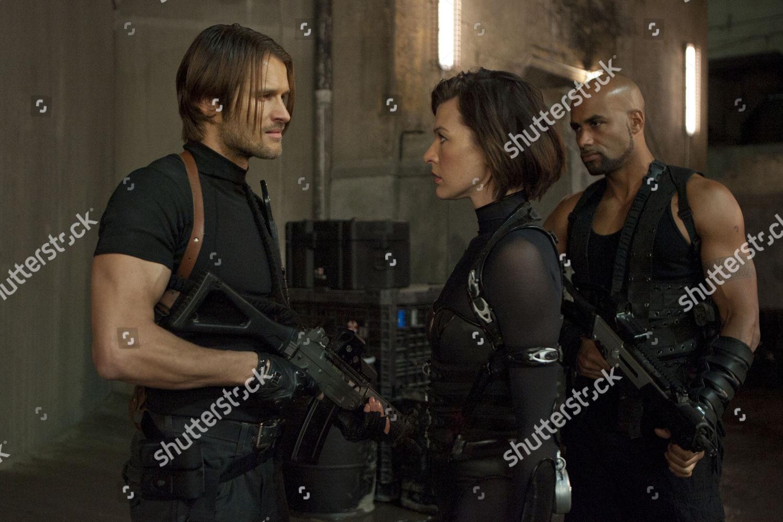 Resident Evil Retribution Johann Urb Milla Jovovich Editorial Stock Photo Stock Image Shutterstock